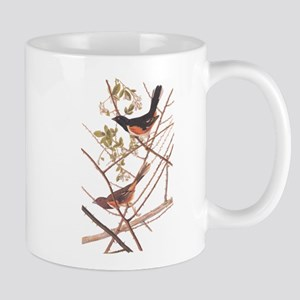 Towee Bunting Birds Audubon Vintage Art Mugs