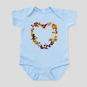 Dog Love Infant Bodysuit