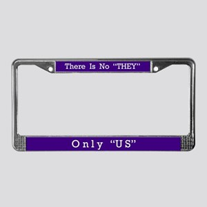 Only US #3 License Plate Frame