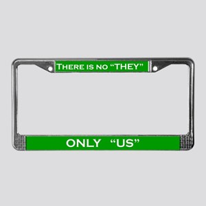 Only US #2 License Plate Frame