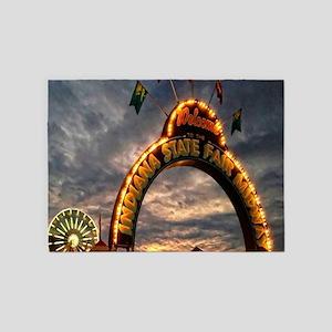 Indiana State Fair 5'x7'Area Rug