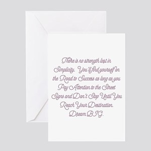 Simplify Your Journey Greeting Cards