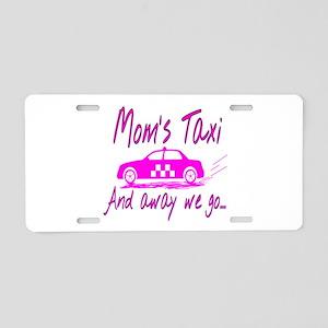 Mom's Taxi Aluminum License Plate