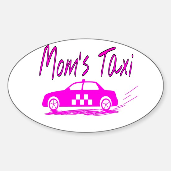 Mom's Taxi Decal