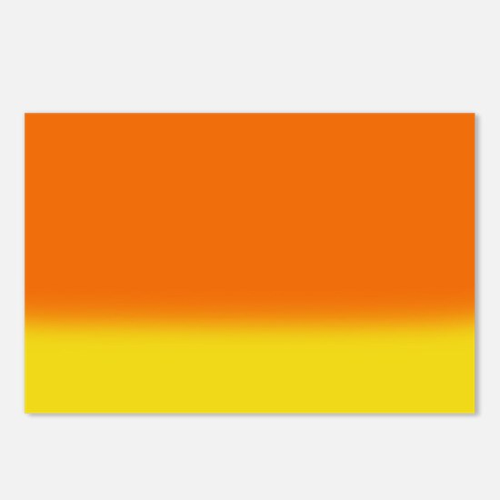Candy Corn Ombre Postcards (Package of 8)