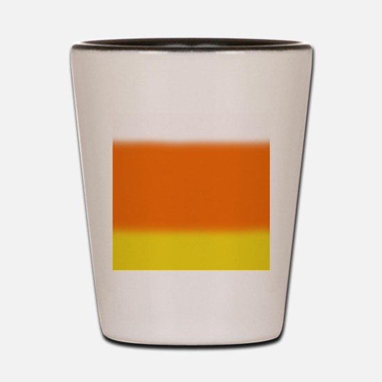 Candy Corn Ombre Shot Glass
