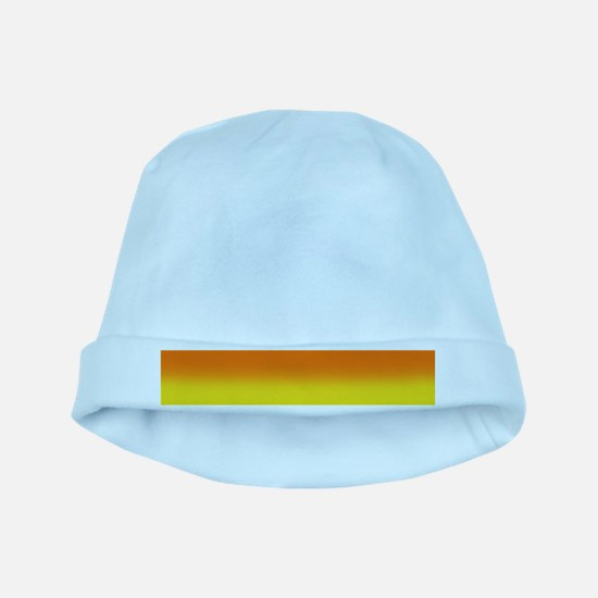 Candy Corn Ombre baby hat