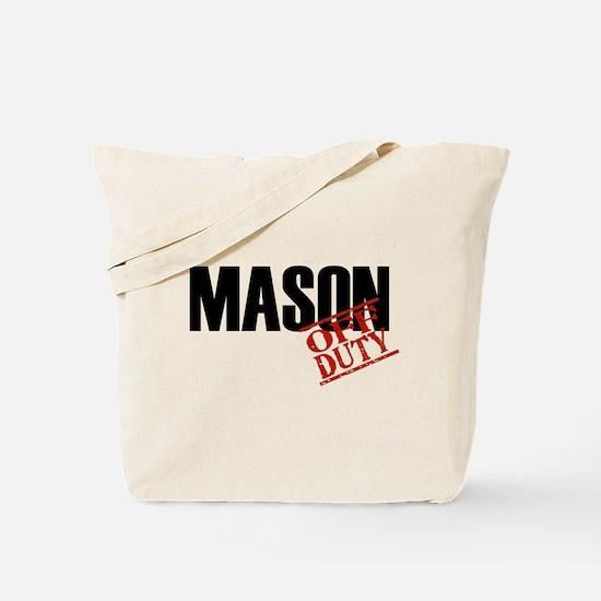Off Duty Mason Tote Bag
