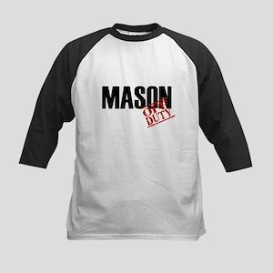 Off Duty Mason Kids Baseball Jersey