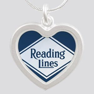 Reading Railroad Logo Blue Necklaces