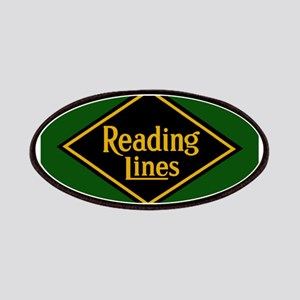 Reading Railroad Logo Green Patch
