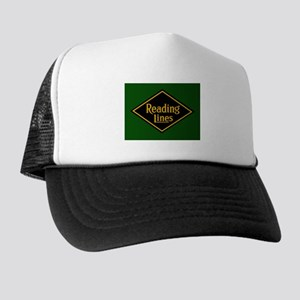 Reading Railroad Logo Green Trucker Hat