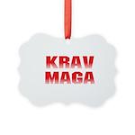 Krav Maga Picture Ornament