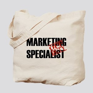 Off Duty Marketing Specialist Tote Bag