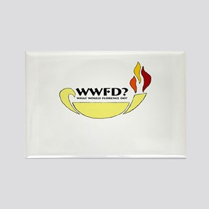 What Would Florence Do? Rectangle Magnet