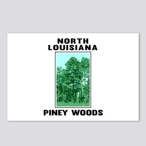 North Louisiana Piney Woo Postcards (Package of 8)