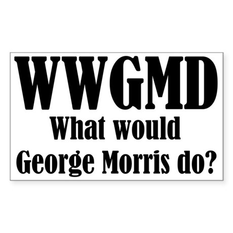 Hillbilly Farms WWGMD Rectangle Sticker