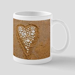 Shell heart Mugs