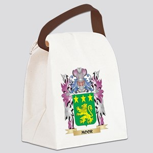Moor Coat of Arms - Family Crest Canvas Lunch Bag
