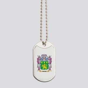 Moor Coat of Arms - Family Crest Dog Tags