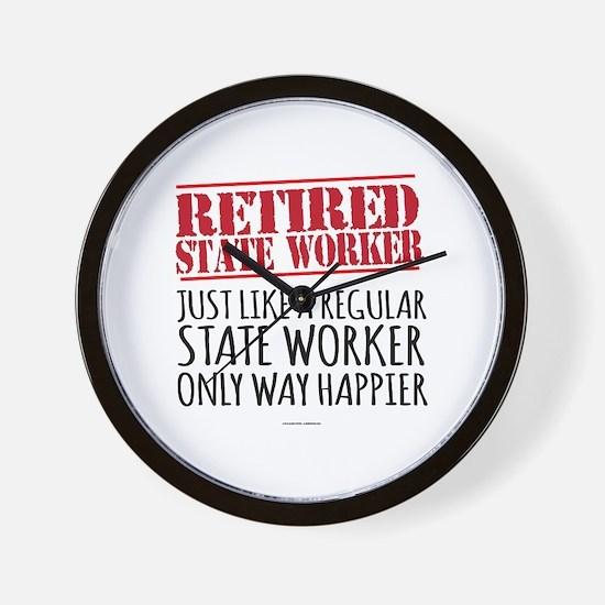 Unique Retirement Wall Clock