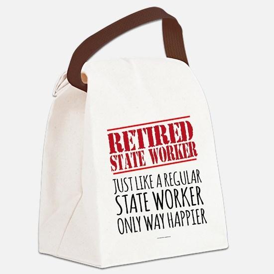Cute Retirement Canvas Lunch Bag