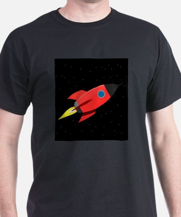 Rocket In Space T-Shirt