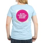 PINK LOYAL DOG Women's Light T-Shirt