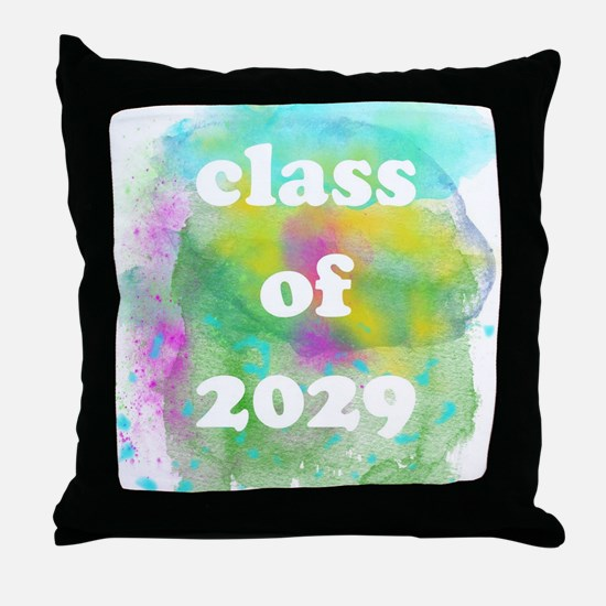 Cute Fun grad Throw Pillow