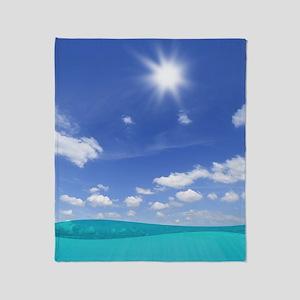 Sunny Sea Throw Blanket