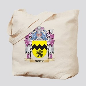 Morse Coat of Arms - Family Crest Tote Bag