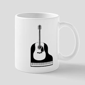 Piano and Guitar Mugs