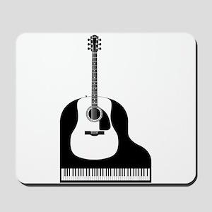 Piano and Guitar Mousepad