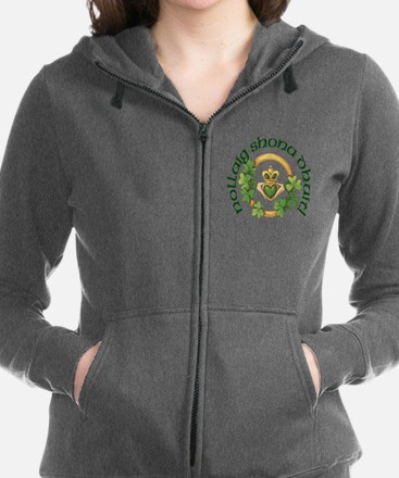 Cute Heritage irish family plaid Women's Zip Hoodie