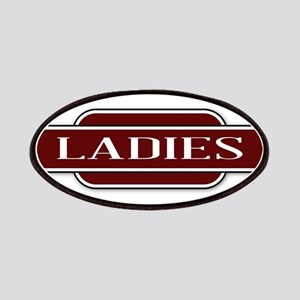 Ladies Toilet Station Name Sign Patch