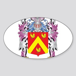 Moshes Coat of Arms - Family Crest Sticker