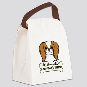 Personalized Japanese Chin Canvas Lunch Bag