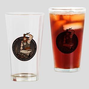 NROL-55 Program Drinking Glass