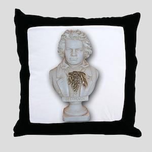 BeethovenAlone Throw Pillow