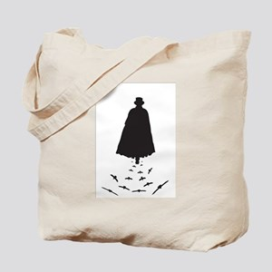 Jack the Ripper with Crows Tote Bag