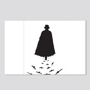 Jack the Ripper with Crow Postcards (Package of 8)