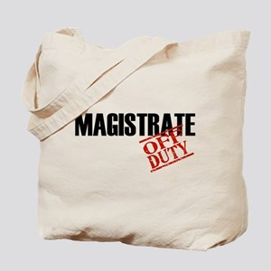 Off Duty Magistrate Tote Bag