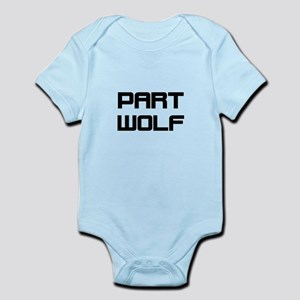 Part Wolf Body Suit
