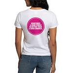 PINK GOOD SMOOCH Women's T-Shirt