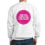 PINK GOOD SMOOCH Sweatshirt
