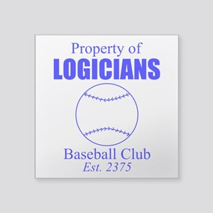Vulcan Logicians baseball Sticker