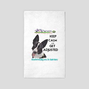 chiropractor dog Area Rug