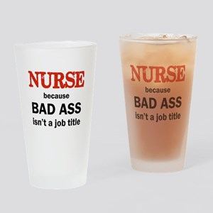 BAD ASS Drinking Glass