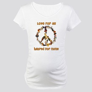 Dogs Of Peace Maternity T-Shirt
