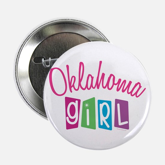 "OKLAHOMA GIRL! 2.25"" Button (10 pack)"